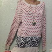 Шикарная мягенькая тепленькая кофточка свитер 100%котон р.10 Акция читайте