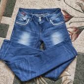 Собирай лоты) экономь на доставке) Красивенные стильные джинсы для девочки 12-15 лет