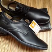 Мужские кожаные классические туфли, 43-44р.