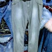 Новые турецкие джинсы размер 36, на бедра 110-114 см, поб 54 см