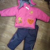 Новый зимний комбинезон с курткой на 1,5- 3 года. Смотрите и другие мои лоты.