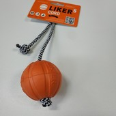 Liker Cord 5 см.Мячик на канате для собак.Collar.
