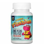Iherb.Vitables, Zinc Plus, добавка с цинком для детей, мандариновый вкус, 90пастилок
