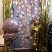 штора-дождик для празднования дня рождения