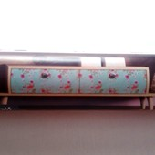 Рулон текстильного клеевого декора Crelando размер 30*100 см