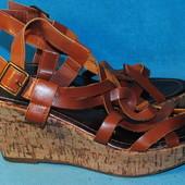 кожаные босоножки maurices 40 размер