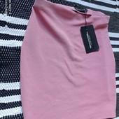 шикарная мини юбка prettylittlething,pp 10,новая