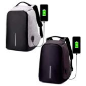 Городской рюкзак антивор под ноутбук Бобби Bobby с USB / с защитой от краж
