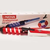 Спиральная плойка Nova NHC-2007A - это эксклюзивная модель, оборудованная удобной системой зажатия п