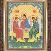 """Схема для вишивки бісером А 4 """"Св. Трійця"""""""