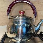 Чайник из нержавеющей стали, 2,5л. беспл. дост. укр. почтой