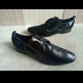 Мужские туфли, натуральная кожа! 44размер
