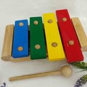 Ксилофон Wonderwarld деревянный