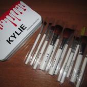 Набор кистей kylie professional brush set Мятая коробка (фото 3)