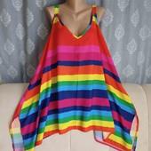 Блуза радуга