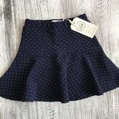 Cool Club нарядная юбка горошек р.104