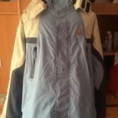 Куртка, термо ветровка, мембрана 3000, размер XL. Cinnamon. состояние хорошее