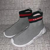 Дышащие стильные кроссовки-носки снокеры,лично рекомендую!размер на выбор!