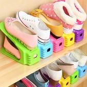 Подставка, органайзер для хранения обуви Double Shoe Racks