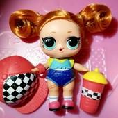 смена цвета от холода !! Hairgoals 1 куколка Sk8er Grrrl в комплекте mga lol лол