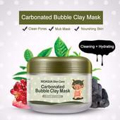 Оригинал!Кислородная маска Bioaqua Carbonated Bubble clay mask