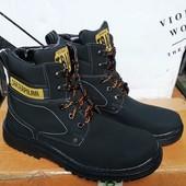 Зимние мужские термо ботинки- Львов на шнуровке. Есть отзывы 43-28 см.