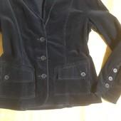 Вельветовый пиджак casual woman