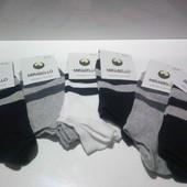 Мужские заниженные носки. Размер 23-25. В лоте 6 пар.