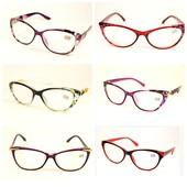 """Стильные имиджевые очки """"Кошечки""""и Лисички с диоптриями плюс-"""