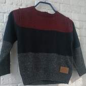 Кофта, свитер лёгкий, мальчик 6-7 лет новый