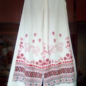 "2,48х0,45м.Большое свадебное полотенце.Обрядовое полотенце""Бажаемо Щастя""."