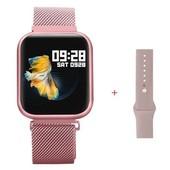 Смарт часы,фитнес-браслет два браслета,умные часы, apple band T80, с функцией тонометра и пульсометр