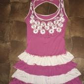 Очень красивое платье на девочек