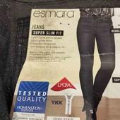 Esmara syper skinny fit с люрексовым напылением 38 размер