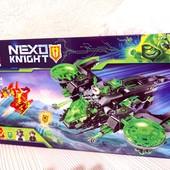 Конструктор Bela Nexo Knight 10816 Неистовый бомбардировщик , 386 деталей
