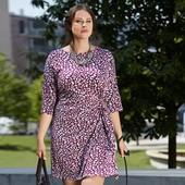 Корректирующее платье из ткани джерси , рукав 3\4 от Tchibo(германия) размер 44 евро=50-52