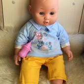 Озвученная куколка 40см. в новом костюмчике!!! Фирма Argos Limited!!!