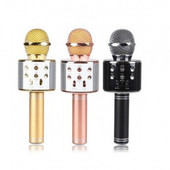 Микрофон для караоке ws-858 (Usb/Bluetooth) цвет фото 2