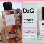 Вот она, шальная Dolce & Gabbana 3 L'Imperatrice!!!))) тестер 60 мл ( фото 1 и 5)