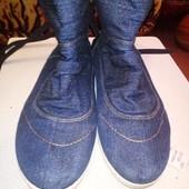 Ботиночки джинс 26 по стельке