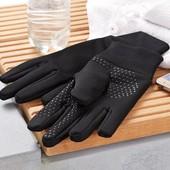 Тёплые, антискользящие сенсорные перчатки с пропиткиой ecorepel® от Tchibo (Германия), размер: 7,5