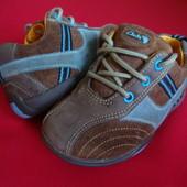 Туфли Clarks First натур замша 21-22 размер
