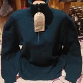 Шикарный тёмно синий под горло тёплый стречь свитерок новый.Акрил100%.3xl,4xl,5xl. Лотов много