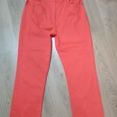 Стильные яркие джинсы на пышные формы, посадка высокая, р.16 в хорошем состоянии