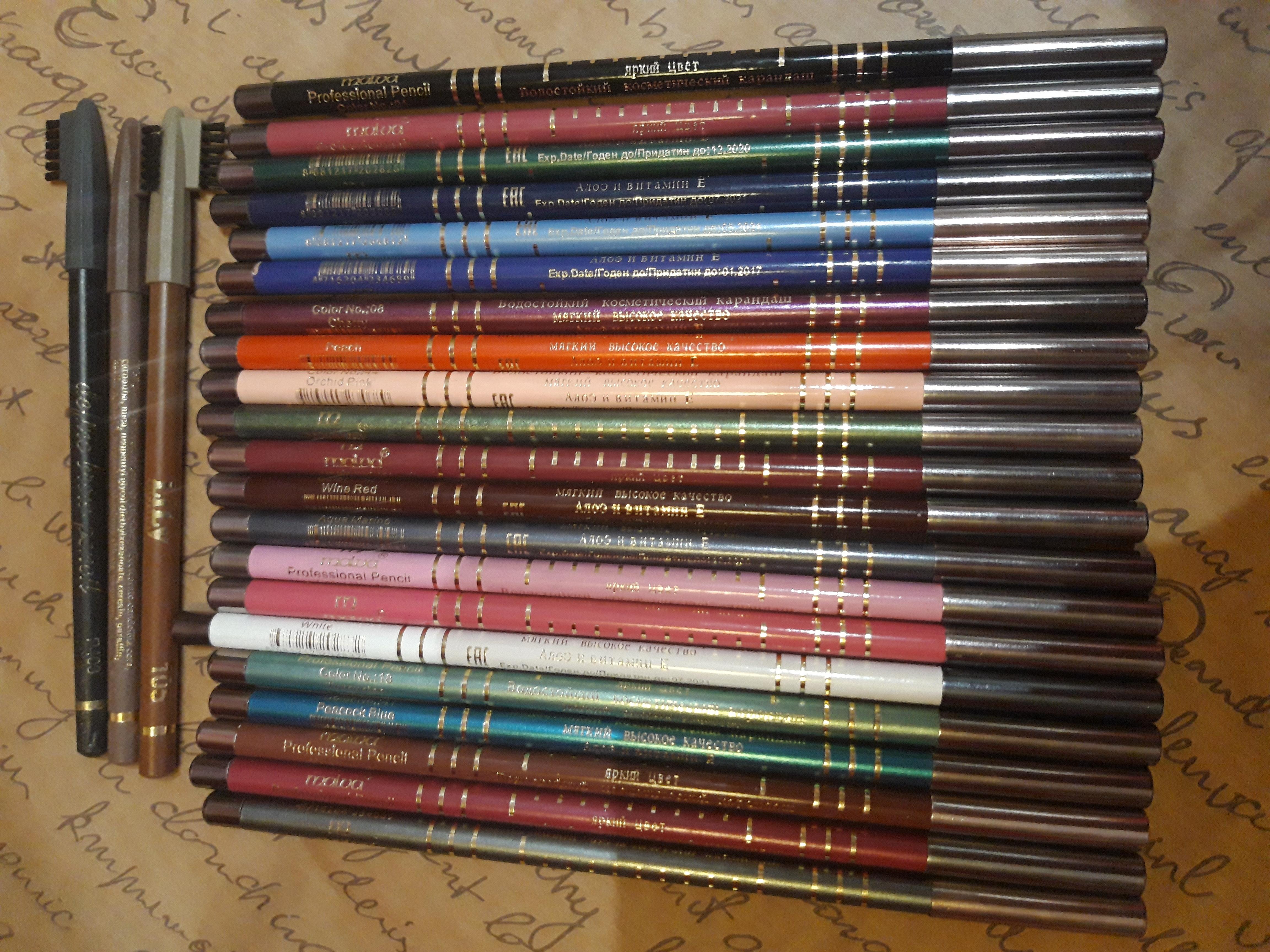 24 карандаша одним лотом Malva