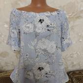 Стильная женская блуза FsF, свободного кроя, размер М