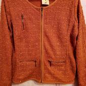 Батал! Пиджак,жакет, кофта нарядный с пайетками на 56-60 р.р. Германия