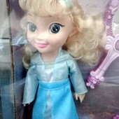 Кукла Frozen Эльза, с аксессуарами, кукла музыкальная и светится ожерелье, зеркало светится