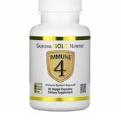 Iherb.California Gold Nutrition, Immune4, средство для укрепления иммунитета, 60растительных капсул