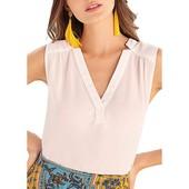 ☘ Лот 1 шт ☘ Ділова блуза без рукавів V-виріз Our heritage (Англія), рр. наш: S євро